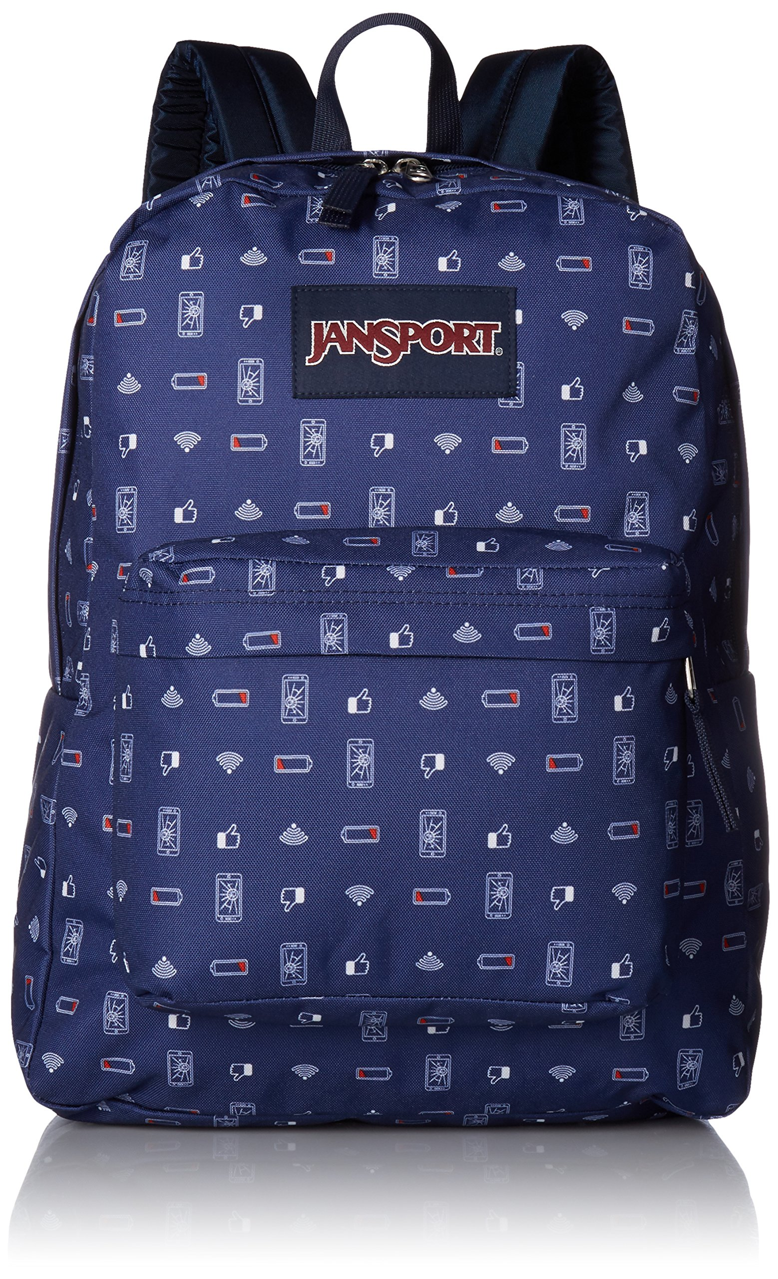 JanSport Unisex SuperBreak Digital Destruction Backpack by JanSport