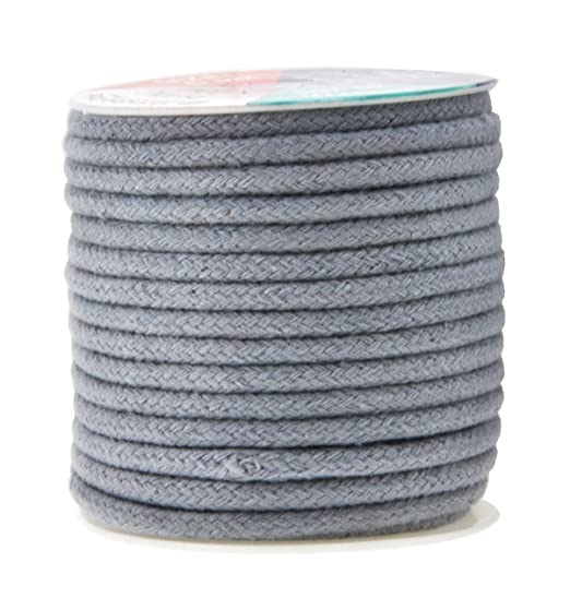 10 Yards, Navy 3//8 Cotton Flat Draw Cord Drawstrings Handles Lace Trim String Anrox Supply Co