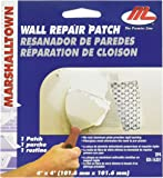 MARSHALLTOWN The Premier Line DP4 4-Inch by 4-Inch Drywall Repair Patch Kit