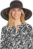 Coolibar UPF 50+ Women's Wide Brim Beach Hat - Sun Protective