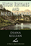 High Rhymes and Misdemeanors (Poetic Death Mysteries Book 1)