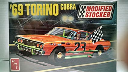 Amazon com: AMT #T194 1969 Torino Cobra Modified Stocker VERY RARE 1