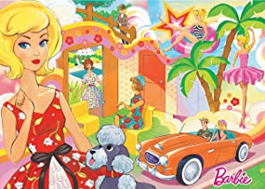 Ravensburger Barbie: Vintage Barbie 1000 Piece Jigsaw Puzzle for Adults – Every Piece is Unique, Softclick Technology Means Pieces Fit Together Perfectly