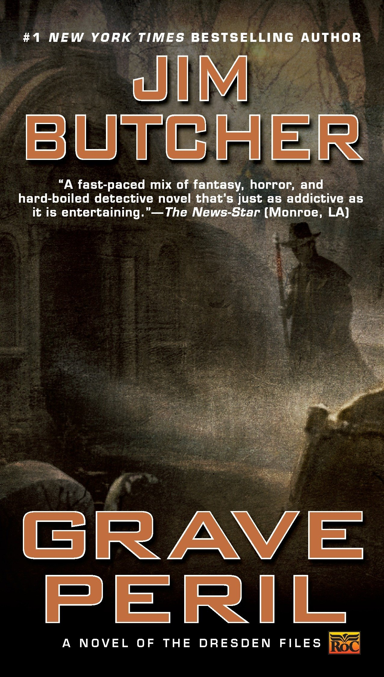 Amazon.com: Grave Peril (The Dresden Files, Book 3) (9780451458445): Jim  Butcher: Books