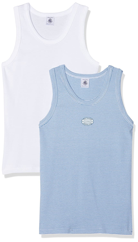 Petit Bateau T-Shirt Bambino (Pacco da 2) 24284