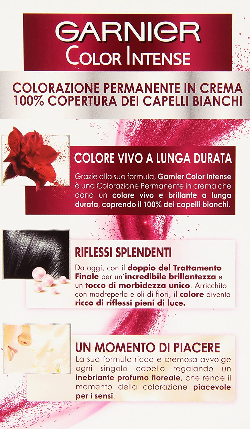 Garnier Garnier Color Intense Colorazione Permanente in Crema 3c0d8db27f36