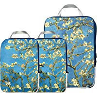 Packing Cubes Travel Organizer- Compression Packing Cubes for Carryon Luggage