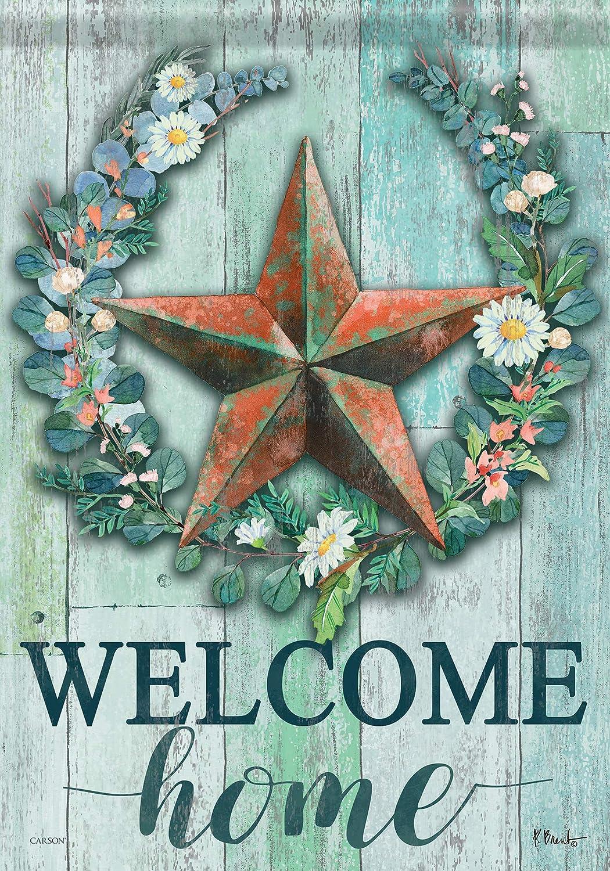Carson Home Accents 49610 Classic Garden Flag, Multicolored