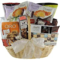 Easter Gourmet Gift Basket - Chocolates, Chocolate-Covered Treats, Munchies, Nuts