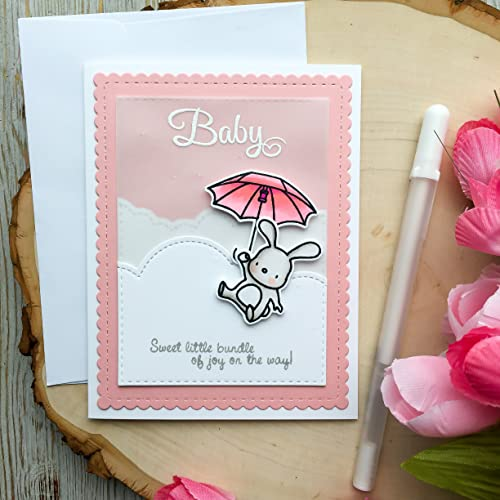 Baby Shower Card Handmade Card Greeting Card Baby