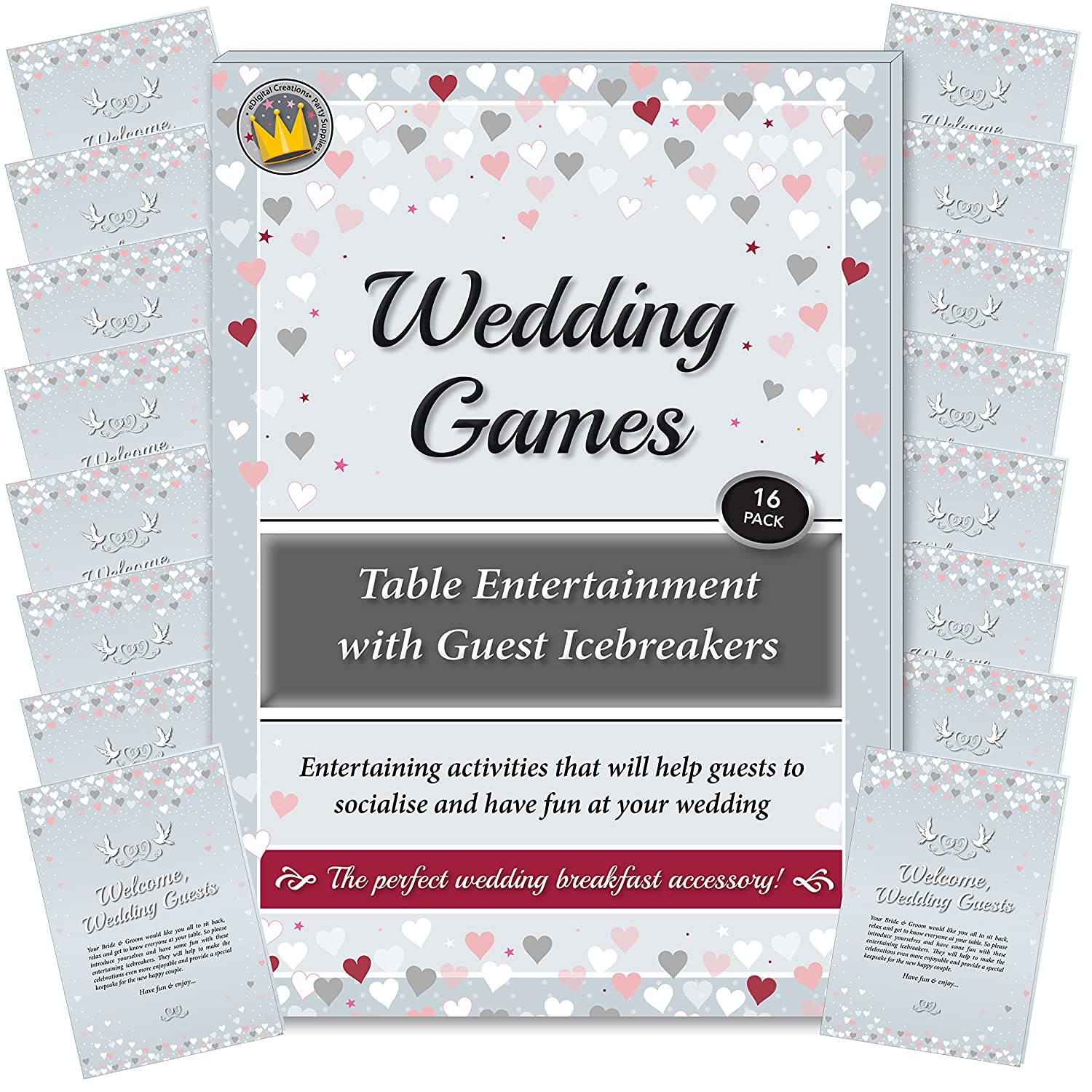 Wedding Games - Table Entertainment and Icebreakers for Guests ...
