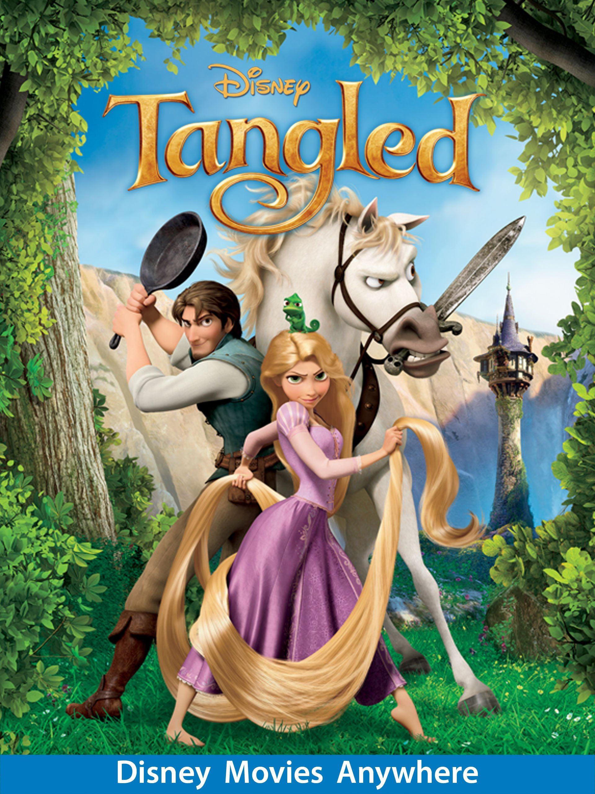 Amazon: Tangled: Mandy Moore, Zachary Levi, Donna Murphy, Ron Perlman:  Amazon Digital Services Llc