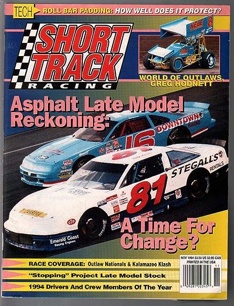 Short Track Racing 11/1994-Asphalt Late Model-Outlaw