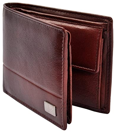 1f62be87a8 AM LEATHER Brown Men's Wallet