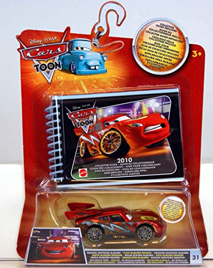 Amazon Com Disney Pixar S Cars The Movie Cars Collection Guide With Die Cast Car Toys Games