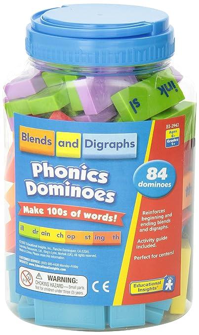 Amazon.com: Educational Insights Phonics Dominoes - Blends ...