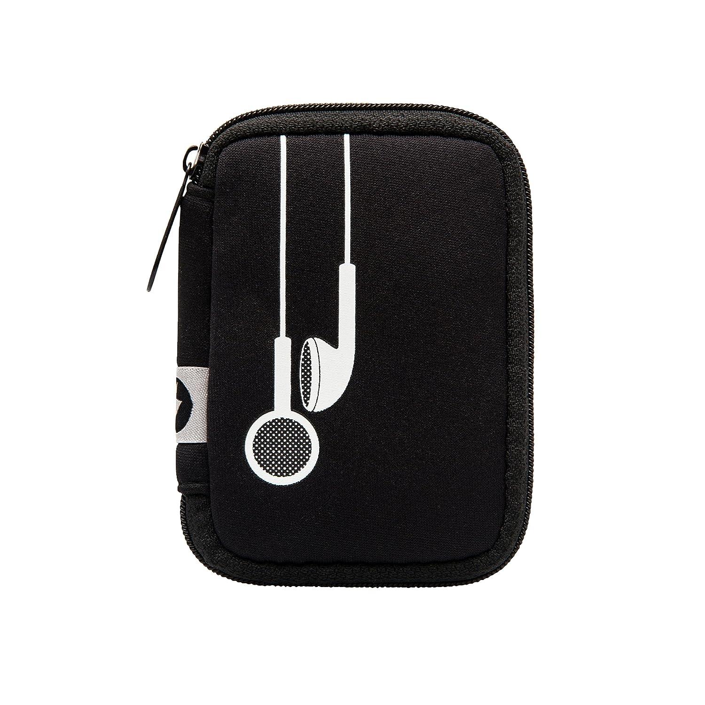 Mytagalongs イヤホンケース, Plug In Black/Black, One Size  Plug In Black/Black B0761YXTDW