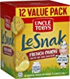 UNCLE TOBYS Le Snak French Onion Dip & Crackers Value Pack,1 Box of 12, 264g