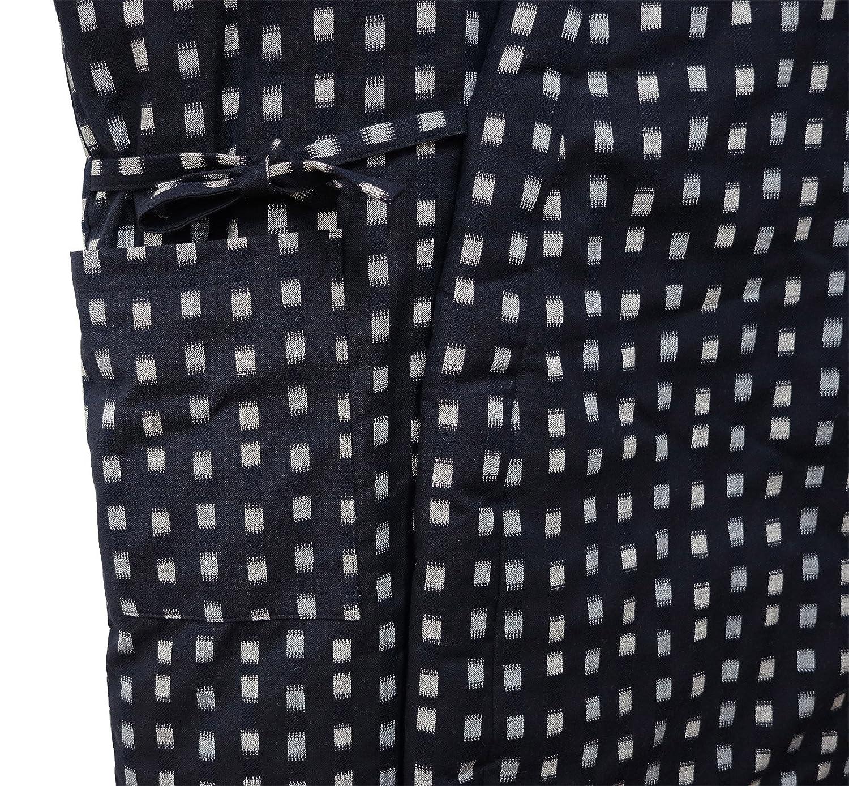 WATANOSATO Long Hanten Cotton Jacket Made in Japan Kimono-Style Japanese Clothes Size Mens