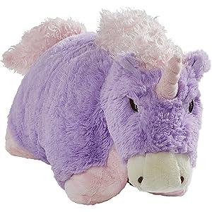 """Pillow Pets Signature Magical Unicorn, 18"""" Stuffed Animal Plush Toy"""