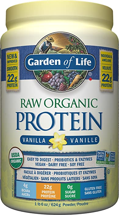 Updated 2021 – Top 10 Garden Of Life Raw Organic Vanilla Meal Replacement