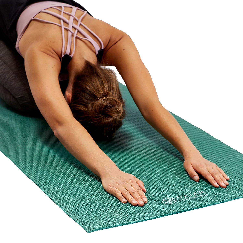 Amazon.com: Gaiam Essentials Premium - Esterilla de yoga con ...