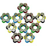 Roller Chain Fidget Toy - Stress Relief Perfect for ADHD, ADD, Anxiety in Classroom, Office, School, Work for Students…