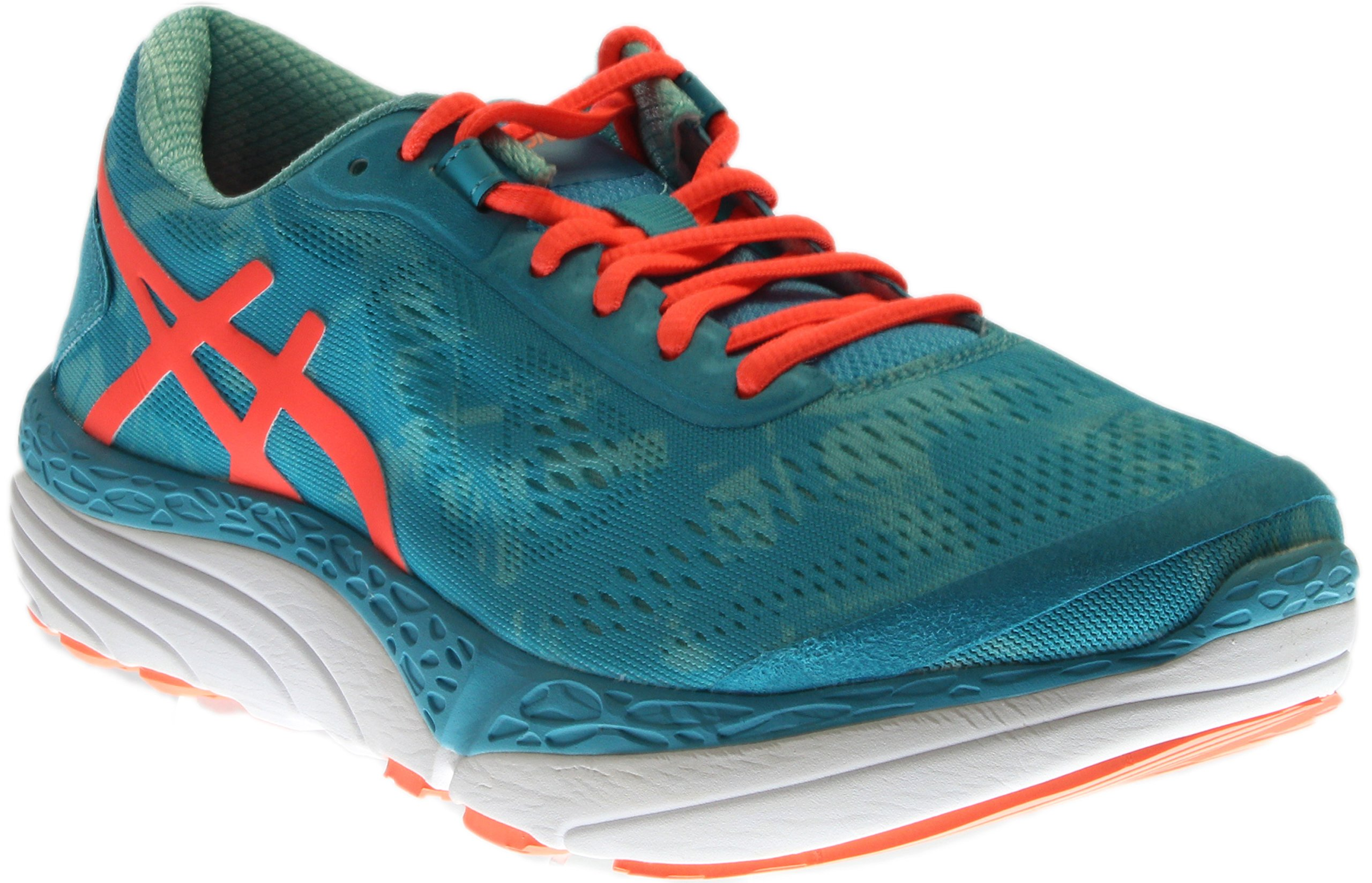 ASICS Women's 33-M 2 Running Shoe, Aquarium/Flash Coral/Aruba Blue, 9.5 M US by ASICS (Image #1)