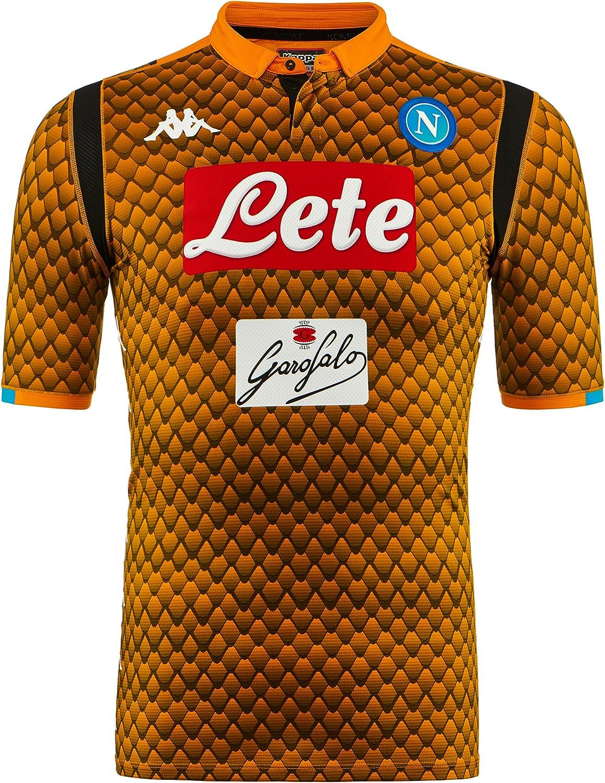 SSC Napoli Camiseta de portero visitante: Amazon.es: Ropa y accesorios
