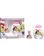 Disney princess for kids - 2 piece gift set 1.2oz edt spray, 10.2oz shower gel & shampoo