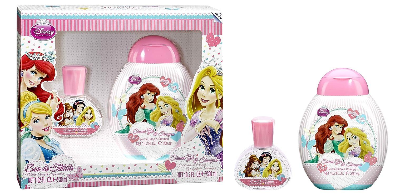 Disney, Principesse, Set con Eau de Toilette (30 ml) e Bagnoschiuma (300 ml) 6136