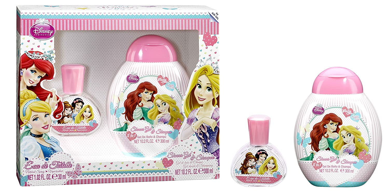 Disney princess for kids - 2 piece gift set 1.2oz edt spray, 10.2oz shower gel & shampoo 6136
