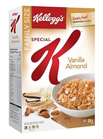 Image result for vanilla almond special k cereal
