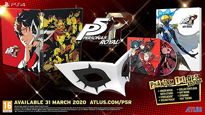 Persona 5 Royal Phantom Thieves Edition (PS4): Amazon.co.uk: PC ...