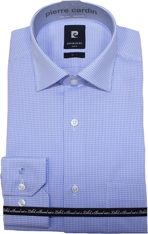 Pierre Cardin - Camisa Formal - Camisa - Clásico - Manga Larga - para Hombre Azul 38: Amazon.es: Ropa y accesorios