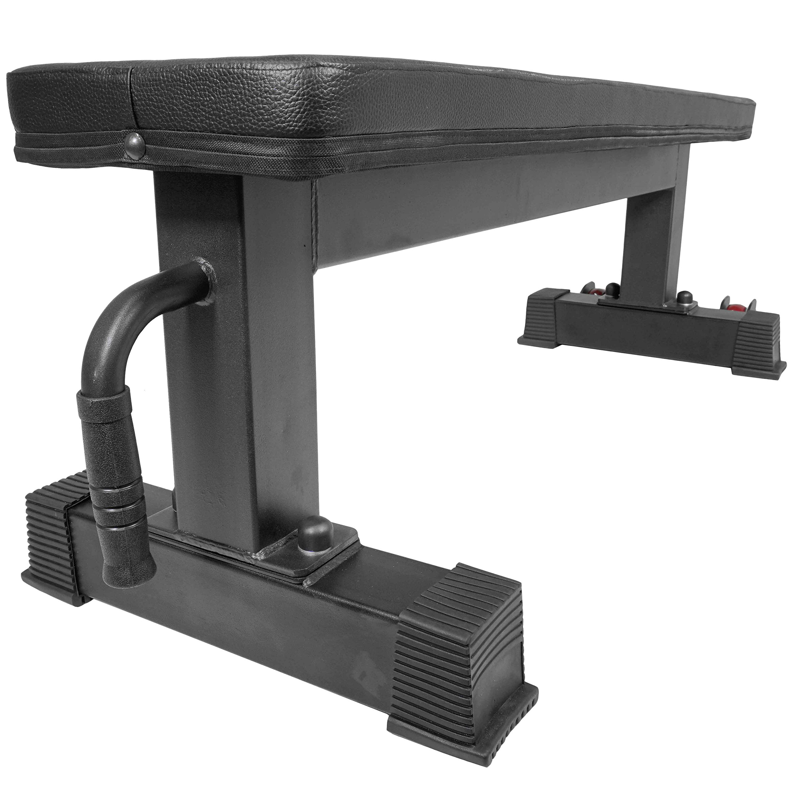 Titan Fitness Flat Weight Bench 1,000 lb Rated Capacity w/ Handle & Wheels by Titan Fitness (Image #5)