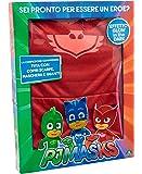 Giochi Preziosi Super Pigiamini PJ Masks Costume Carnevale Gufetta, Taglia 4/5 Anni per Bambini, PJA02200