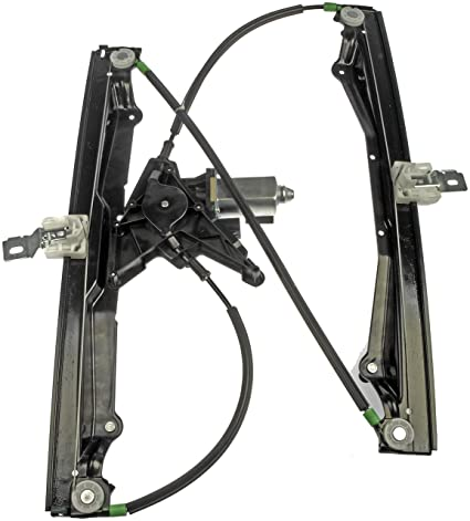 amazon com: dorman 741-813 front driver side power window regulator and  motor assembly for select ford / mercury models: automotive