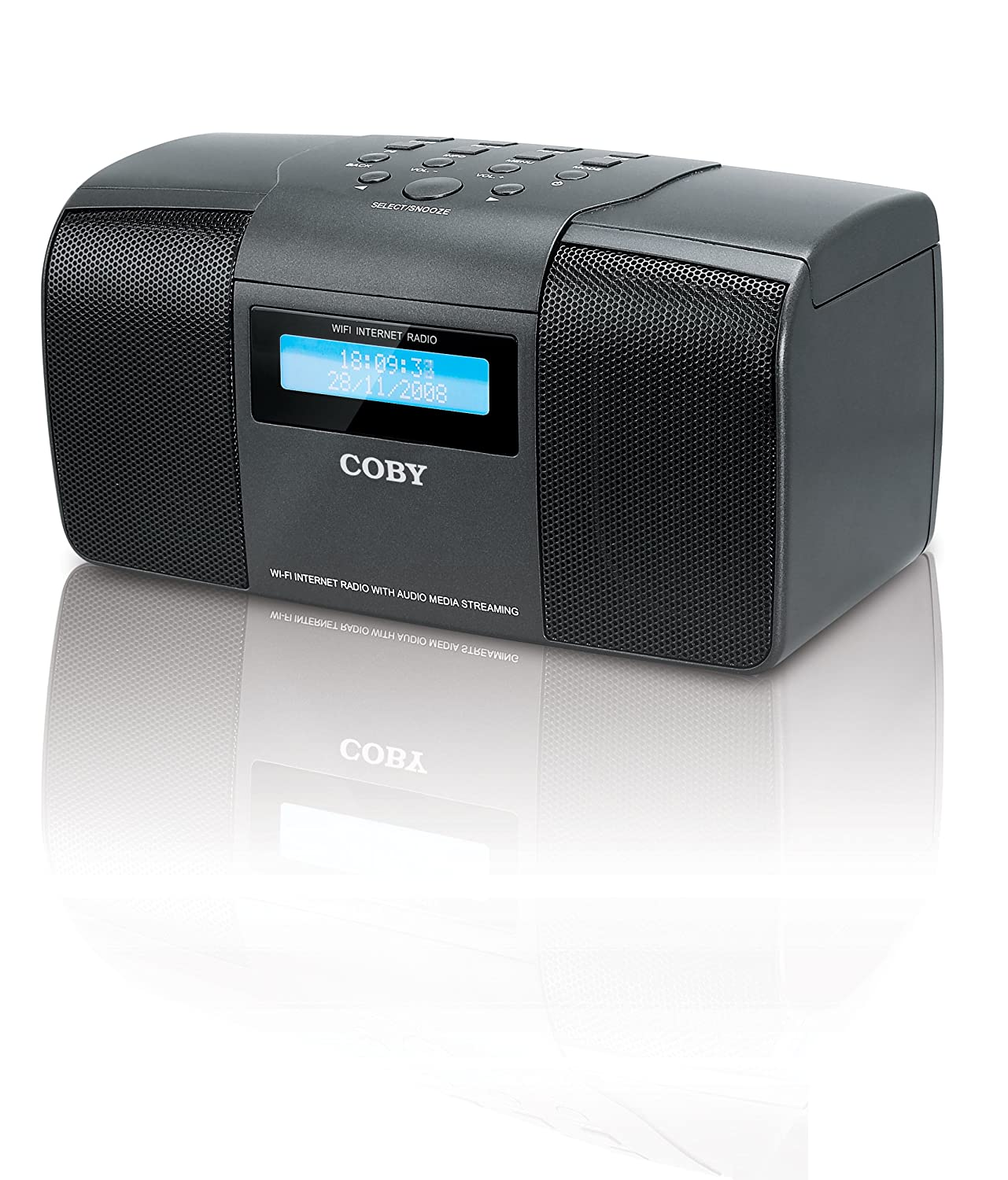 Coby Under Cabinet Radio Amazoncom Coby Ir825 Compact Wireless Internet Radio System
