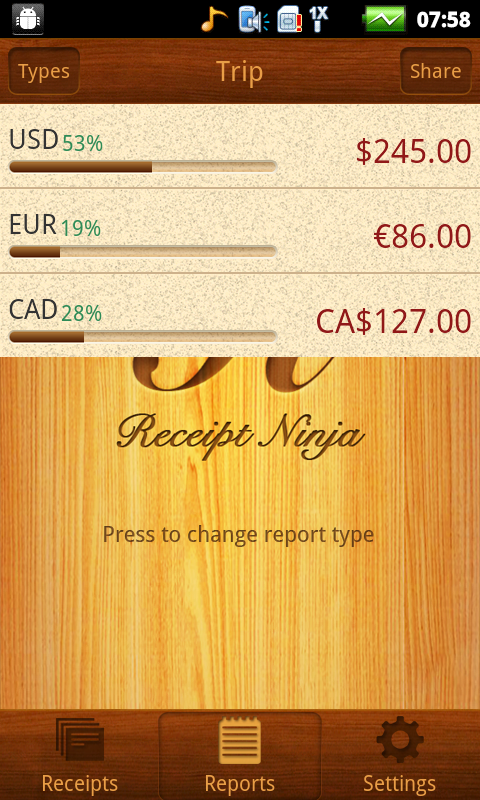 Receipt Ninja - Split Expenses