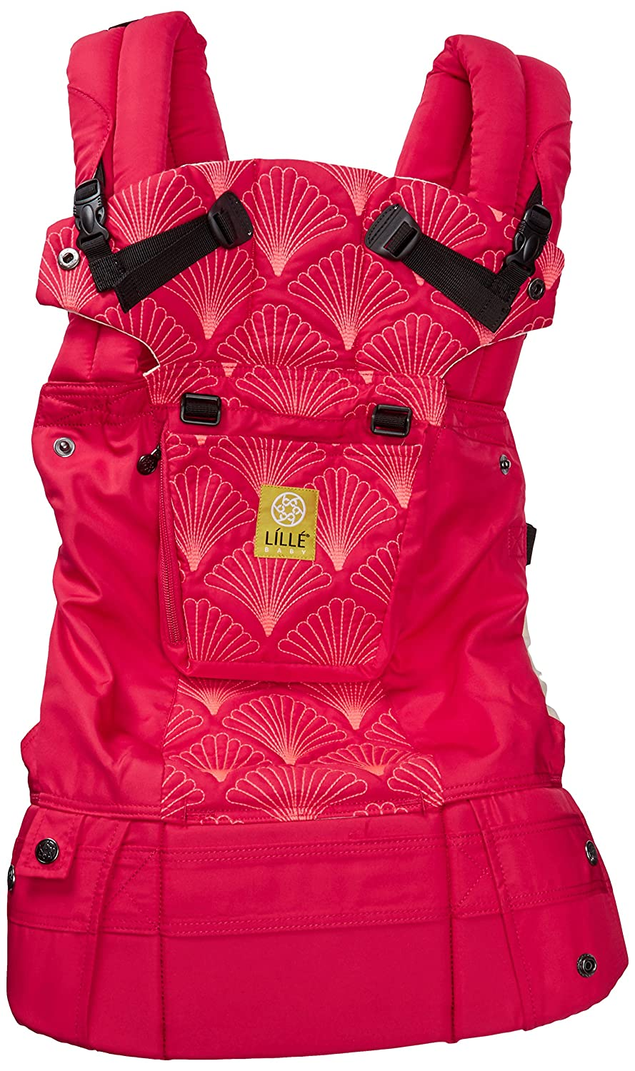 Lillebaby Complete Embossed 6 In 1 Baby Carrier Coral