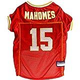 Pets First NFL Kansas City Chiefs Patrick MAHOMES PM-4100-MDPM-4100-MD, Red, Medium