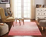 Chesapeake Cotton Ombre Coral Area Rug 13596 Large