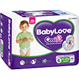 BabyLove Cosifit Junior Nappies 15-25kg (16 pack x 4)