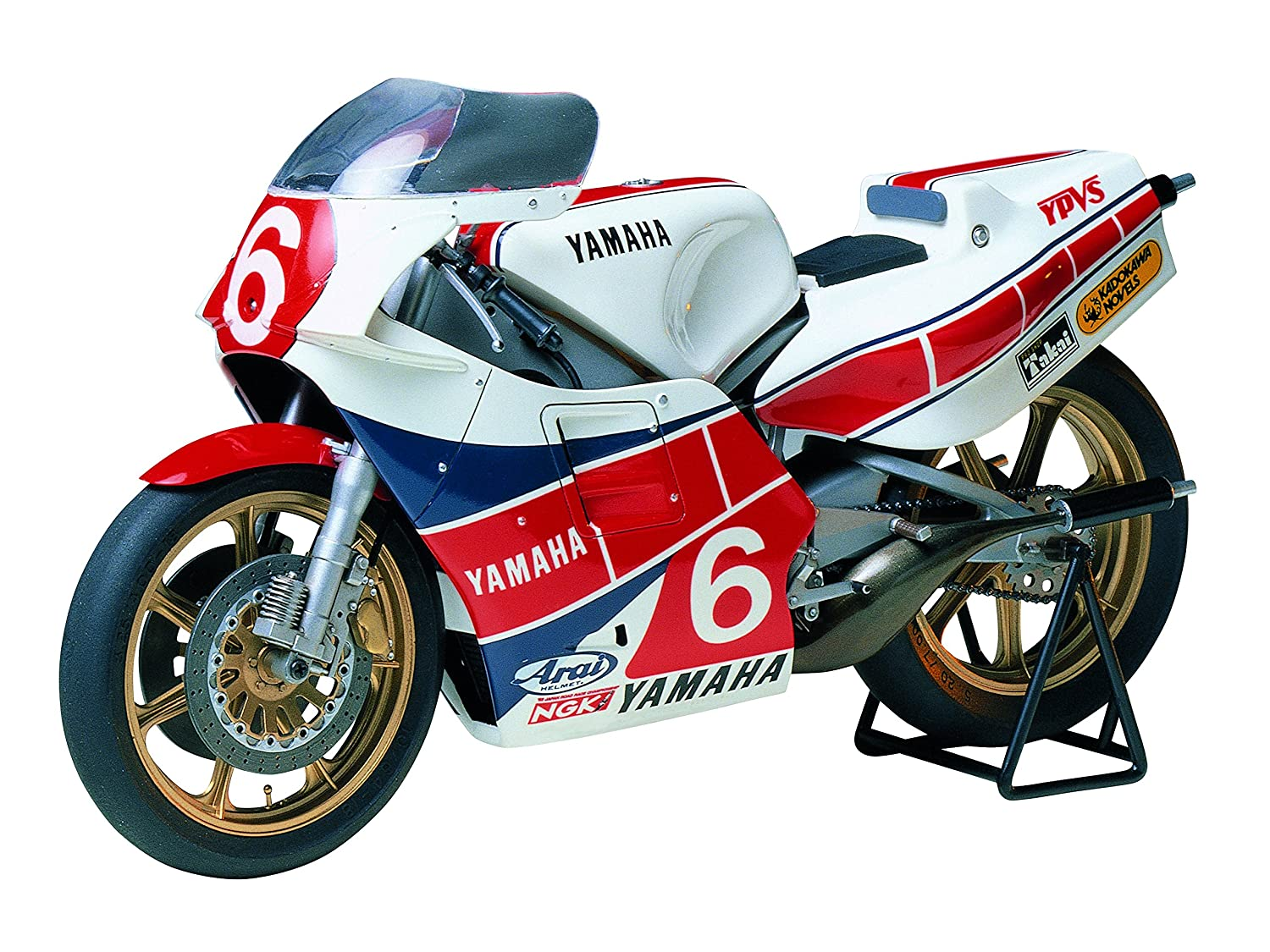 Tamiya 1 12 Yamaha Yzr500 Taira Version   14075  Plastic Model Kit