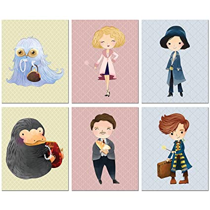 Amazon.com: BigWig Prints Fantastic Beasts and Where to Find Them ...