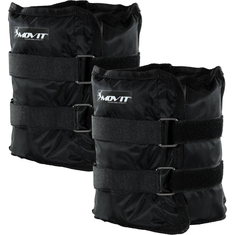 2X 4 kg MOVIT 2er Set Gewichtsmanschetten f/ür Hand- und Fu/ßgelenke 7 Gewichtsvarianten 2X 0,5kg