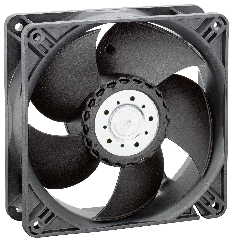 4400 Series 55 dBA 38 mm 167.74 cu.ft//min IP20 24 V 119 mm EBM-PAPST 4414//2HHP Axial Fan DC
