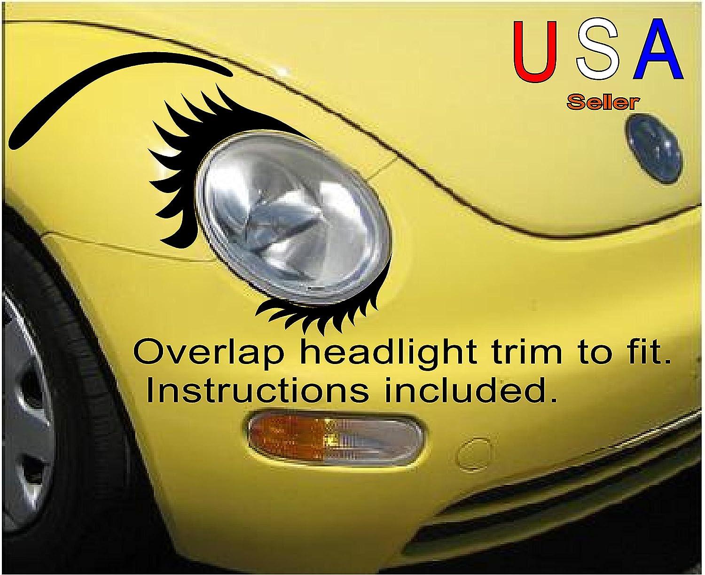 Amazon Car Eyelashes Set Lowers And Eyebrows Face Angel Eyes