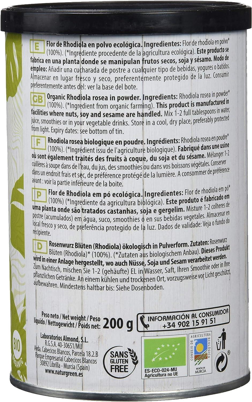 Super Alimento NaturGreen Experience Rhodiola - 200 gr: Amazon.es ...
